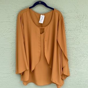 By Collection Women Sz 3X NWT Top